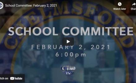 Chelmsford School Committee-Chelmsford TV