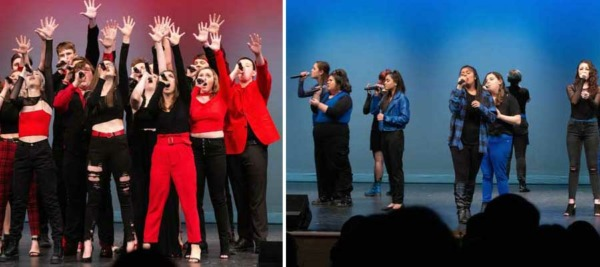 Chelmsford High School A Cappella Groups The Thursdays and The Crescendos