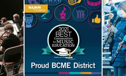 Chelmsford Public Schools Namm Foundation Best Communities for Music Education