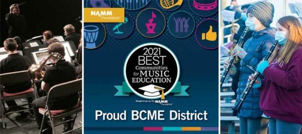Chelmsford Public Schools Namm Foundation Best Communities for Music Education