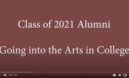 Pursuing the Arts in College-Chelmsford High School