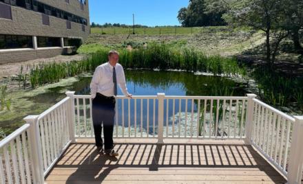 Chelmsford High School Science Pond